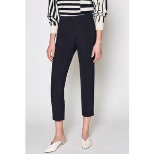 JOIE Kenadia B Striped Crop Trouser Pants NWT